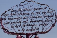 Rob van Avesaath, kunstwerk Margraten. 2015.
